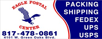 Eagle Postal Center #11, Arlington TX